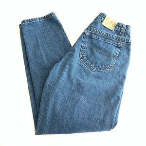 LEE Vintage High Rise Tapered Leg Mom Jeans 10